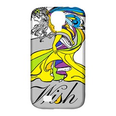 Faerie Wish Samsung Galaxy S4 Classic Hardshell Case (PC+Silicone)