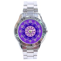 Sarah Stainless Steel Watch