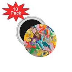 MARBLE 1.75  Button Magnet (10 pack)