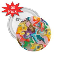 Marble 2 25  Button (100 Pack)