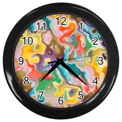 MARBLE Wall Clock (Black)