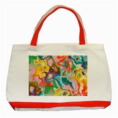 MARBLE Classic Tote Bag (Red)