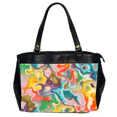 MARBLE Oversize Office Handbag (Two Sides)