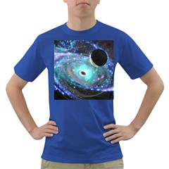 Wormhole2 Men s T-shirt (Colored)