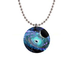 Wormhole2 Button Necklace