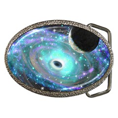 The Portal Belt Buckle (oval)