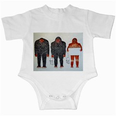 3 Bigfoot, H, A, S, On White, Infant Bodysuit