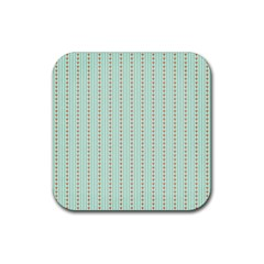 Hearts & Stripes Drink Coasters 4 Pack (square)