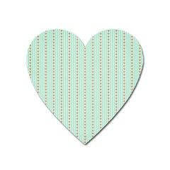 Hearts & Stripes Magnet (heart)