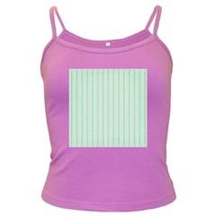 Hearts & Stripes Spaghetti Top (Colored)