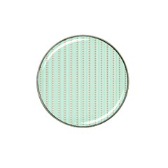 Hearts & Stripes Golf Ball Marker (for Hat Clip)