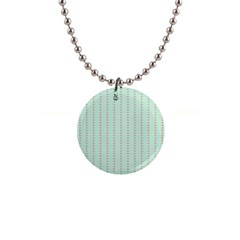 Hearts & Stripes Button Necklace