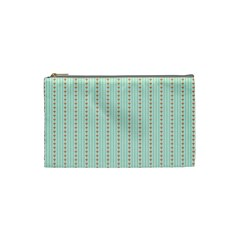 Hearts & Stripes Cosmetic Bag (small)