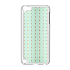 Hearts & Stripes Apple iPod Touch 5 Case (White)