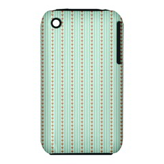 Hearts & Stripes Apple iPhone 3G/3GS Hardshell Case (PC+Silicone)