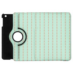 Hearts & Stripes Apple Ipad Mini Flip 360 Case