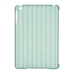 Hearts & Stripes Apple iPad Mini Hardshell Case (Compatible with Smart Cover)