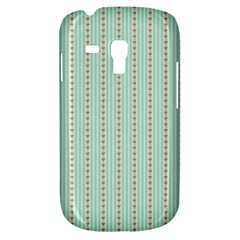 Hearts & Stripes Samsung Galaxy S3 MINI I8190 Hardshell Case