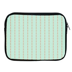 Hearts & Stripes Apple iPad Zippered Sleeve