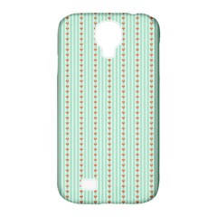 Hearts & Stripes Samsung Galaxy S4 Classic Hardshell Case (PC+Silicone)