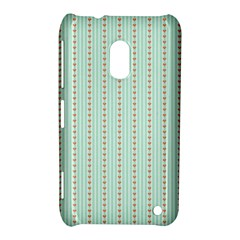 Hearts & Stripes Nokia Lumia 620 Hardshell Case