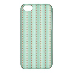 Hearts & Stripes Apple iPhone 5C Hardshell Case