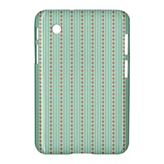 Hearts & Stripes Samsung Galaxy Tab 2 (7 ) P3100 Hardshell Case