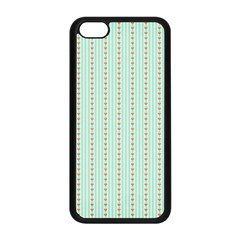 Hearts & Stripes Apple iPhone 5C Seamless Case (Black)