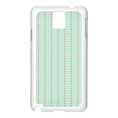 Hearts & Stripes Samsung Galaxy Note 3 N9005 Case (White)
