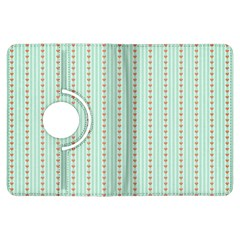 Hearts & Stripes Kindle Fire Hdx 7  Flip 360 Case