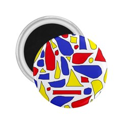 Silly Primaries 2.25  Button Magnet