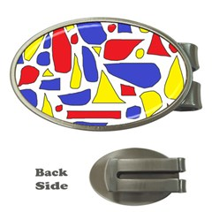 Silly Primaries Money Clip (Oval)