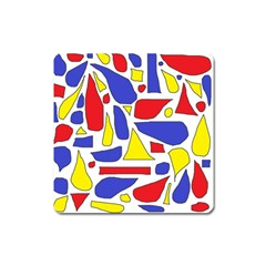 Silly Primaries Magnet (Square)