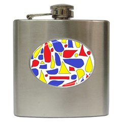 Silly Primaries Hip Flask