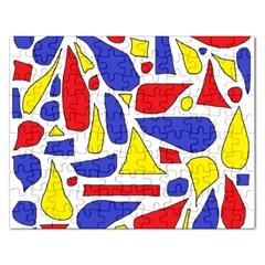 Silly Primaries Jigsaw Puzzle (Rectangle)