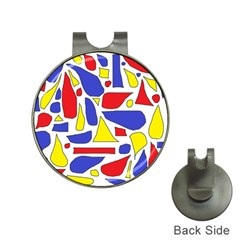Silly Primaries Hat Clip with Golf Ball Marker