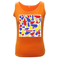 Silly Primaries Women s Tank Top (Dark Colored)
