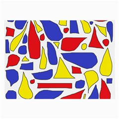 Silly Primaries Glasses Cloth (Large, Two Sided)
