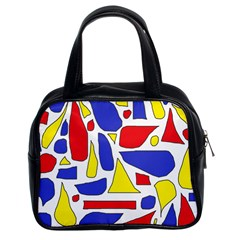 Silly Primaries Classic Handbag (two Sides)