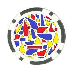 Silly Primaries Poker Chip (10 Pack)