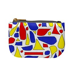Silly Primaries Coin Change Purse
