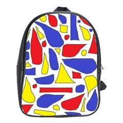 Silly Primaries School Bag (Large)