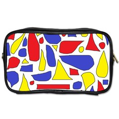 Silly Primaries Travel Toiletry Bag (Two Sides)