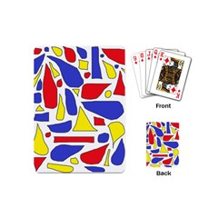 Silly Primaries Playing Cards (mini)