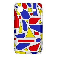 Silly Primaries Samsung Galaxy SL i9003 Hardshell Case