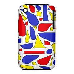 Silly Primaries Apple Iphone 3g/3gs Hardshell Case (pc+silicone)