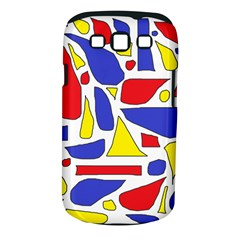 Silly Primaries Samsung Galaxy S III Classic Hardshell Case (PC+Silicone)