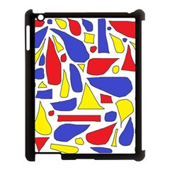Silly Primaries Apple Ipad 3/4 Case (black)