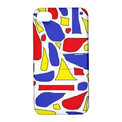 Silly Primaries Apple iPhone 4/4S Hardshell Case with Stand