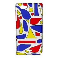Silly Primaries Sony Xperia J Hardshell Case